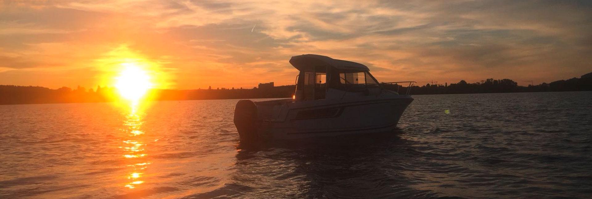 Das Boot der Bootschule Sursee